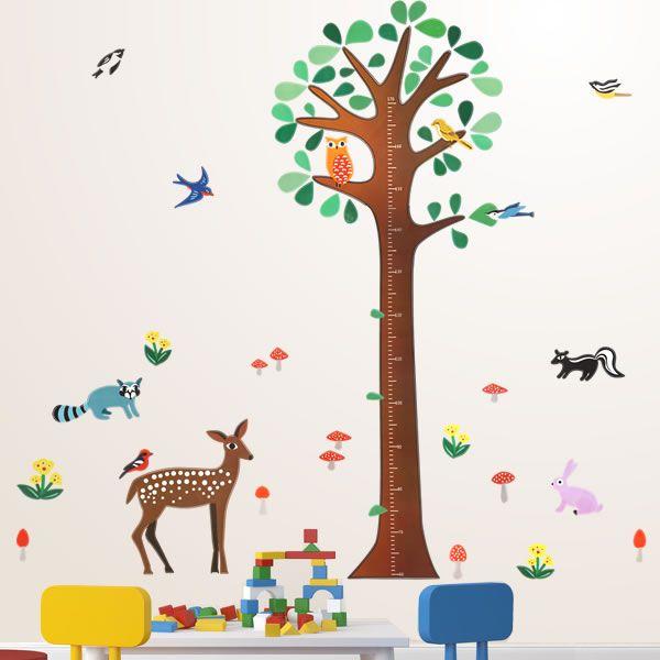 雰囲気にこだわる!寝室 ベッドルームの壁を飾るウォールステッカー集 子供部屋のプラン