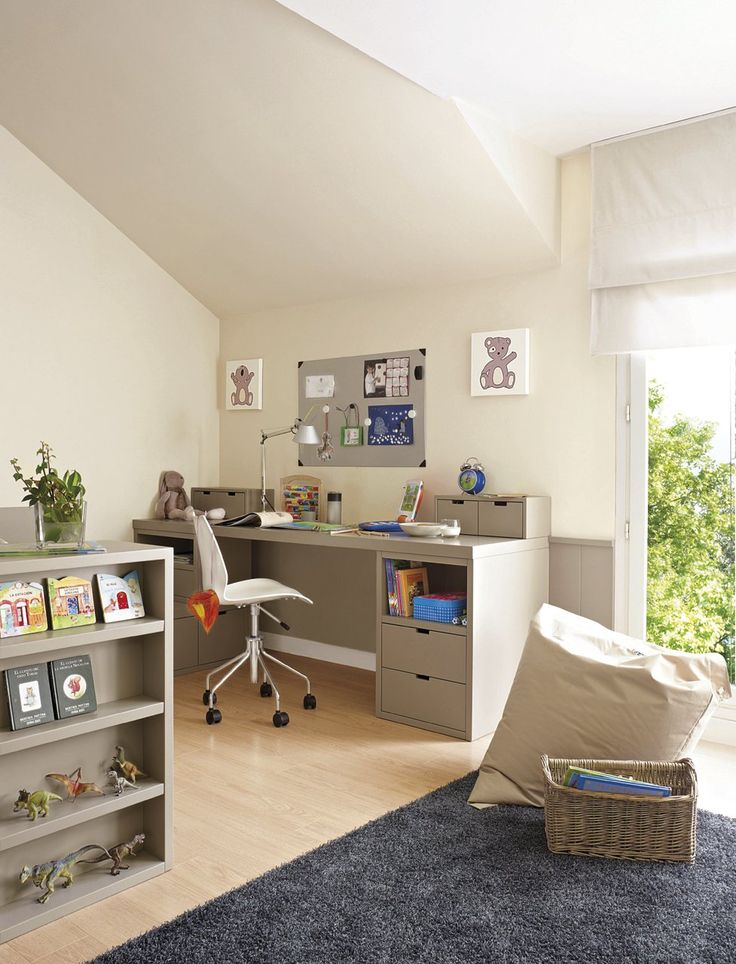 288 best images about kiddie desk on pinterest classic - Habitaciones para ninos ...