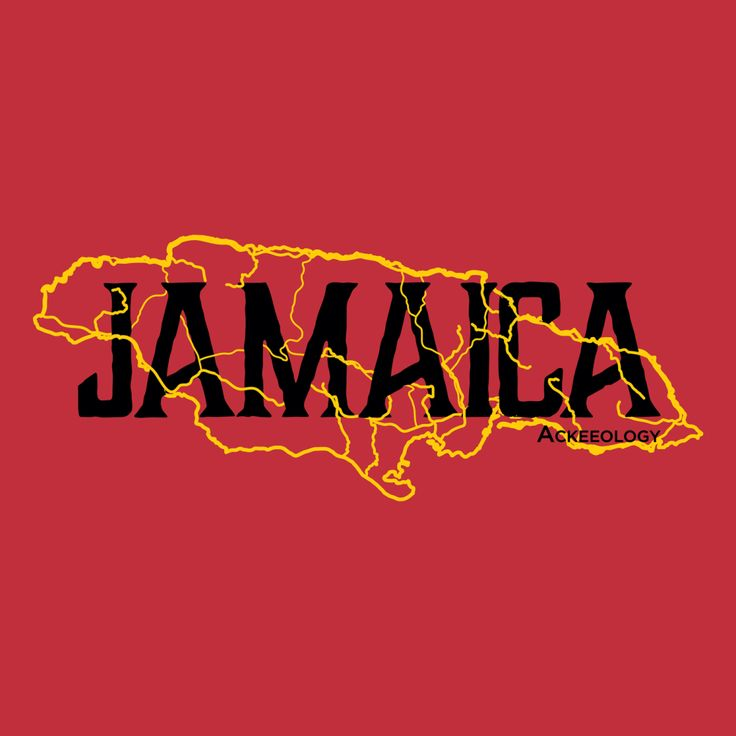 JAMAICA+MAP. This is our take on the iconic 1972 Jamaican Tourist Board poster with the beauty in a red t-shirt. A classic-fitting basic t-shirt with feminine styling. Design is printed soft to the touch. Available in Red and Yellow.  #Jamaican