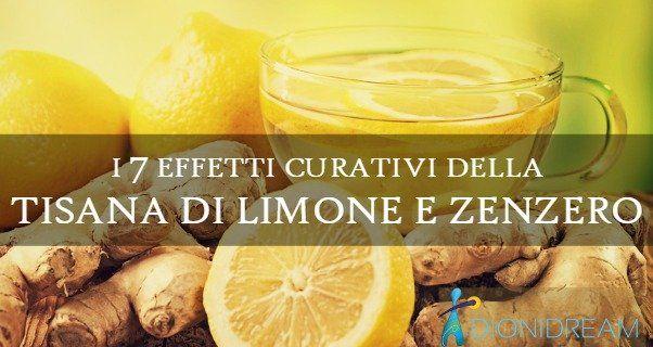 Come fare la tisana di limone e zenzero per avere questi 7 benefici