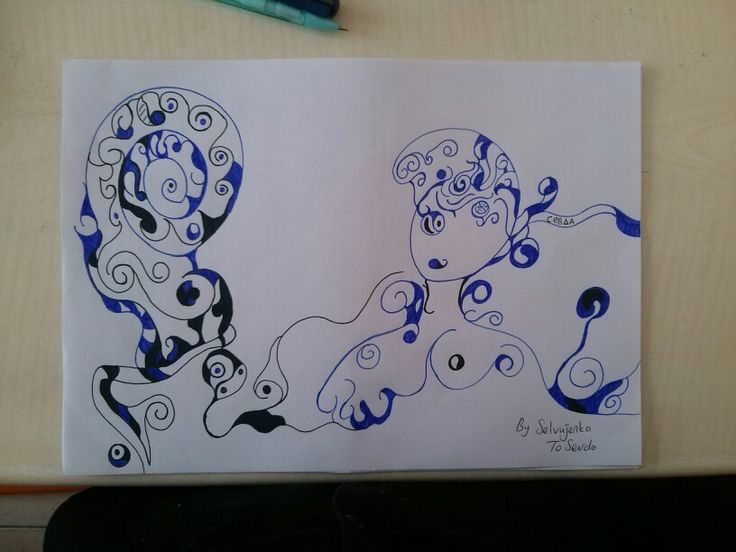 #Blue #Hair #Day