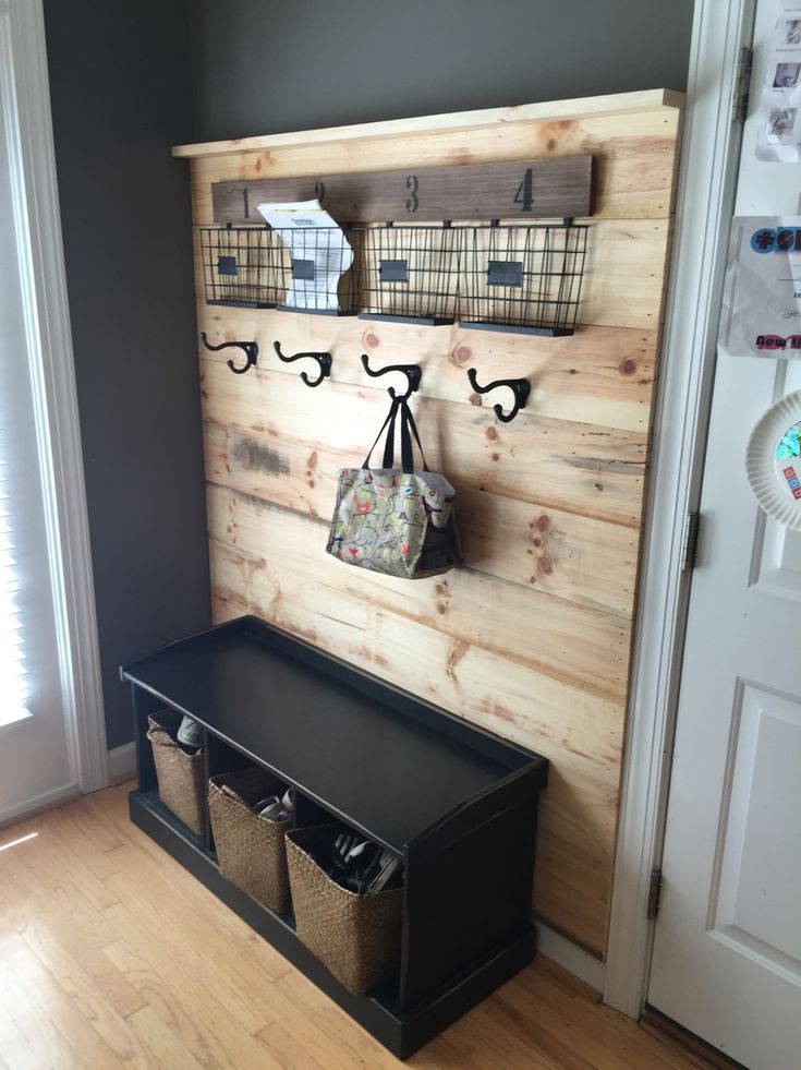 We took some leftover unfinished flooring and found this awesome four  pocketed file system and hooks. Hobby Lobby Wall ... - 25+ Best Hobby Lobby Wall Decor Ideas On Pinterest Hobby Lobby