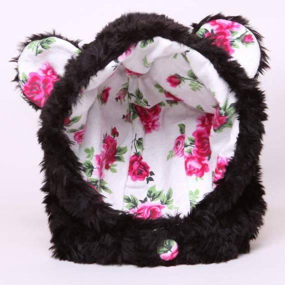 8d3377f1 Trapper Hat Winter Hat Bear Hood/Hat Animal Hat Kids This adorable Fur Bear  Hat is so unbelievably cute!! It would make a terrific gift for the girl in  your ...