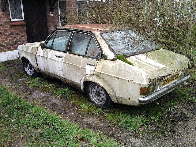Mk2 Ford Escort | Rust in peace - European cars - Junkyard ...