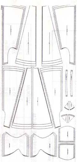 celtic clothing 14th centrury | Medieval wedding dress patterns - houppelande | Medieval wedding ...
