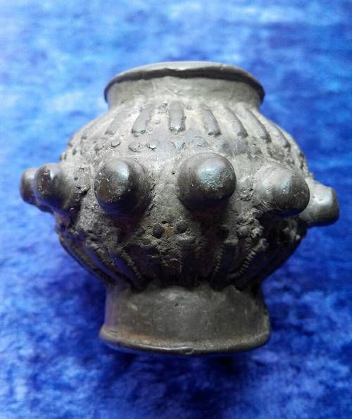 #ancient #rus finial #scepter original 11-13 century , bronze
