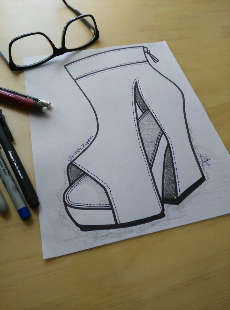 Sketch of the morning ... #dazshoes1916 #diseñoandizappa #zapatos #shoes #calzado #zapatería #diseño #handmade #madeincolombia #diseñodecalzado #sketchdecalzado #sketching #illustration #ilustracion #design #sketchoftheday #shoeart #drawingshoes #dibujozapatos #shoesdraw #shoedesigner #fashiondesigner #fashionillustration #footweardesigner #shoeillustration #medellin #comprocolombiano #footweardesign #shoesketch https://www.facebook.com/DAZ-Shoes1916-349377852081204/ @andi_zappa @Andi_Zappa