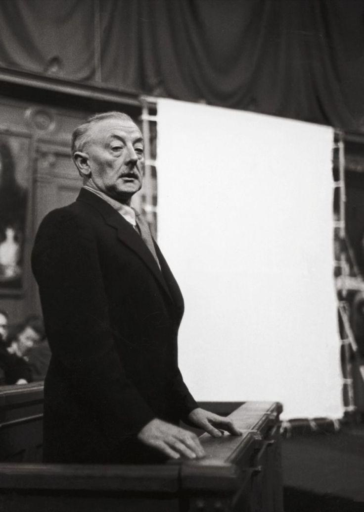 Han van Meegeren on trial, in 1947 // The art hoaxer who painted Vermeer's as exact copies