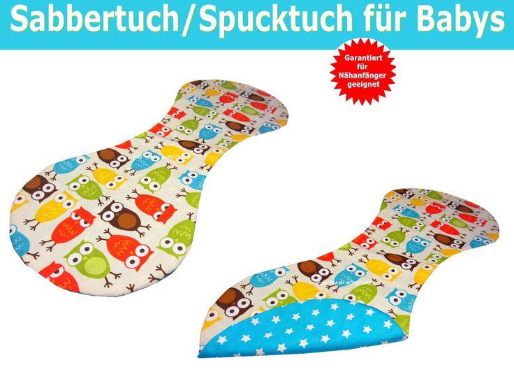 Babymode - Nähanleitung - Spucktuch, Sabbertuch nähen  - ein Designerstück von Trash-Monstarz-Naehshop bei DaWanda