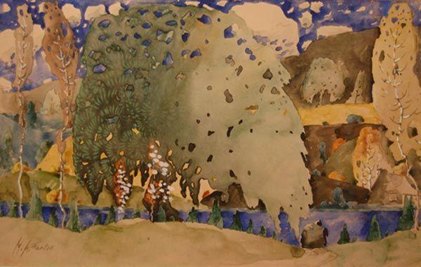 Paysage (c.1922) - Marc-Aurèle Fortin