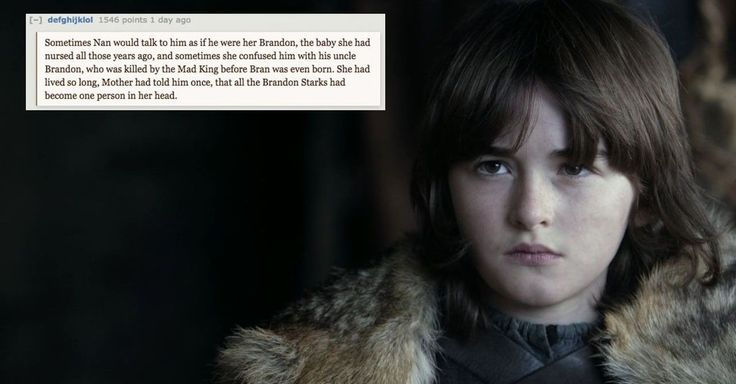 A Reddit user has posted a 'Game of Thrones' fan theory that combines Bran Stark and time travel.