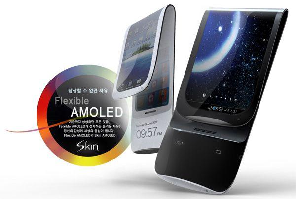La pantalla #AMOLED flexible podría debutar en el Samsung Galaxy Note 2  http://www.xatakamovil.com/p/37171
