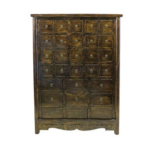 29 Drawer Chest Gold now featured on Fab.