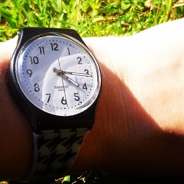#Swatch: Maell Dnl Maëll, Swatch Montr Heur Noir Gris, Instagram Photo, Maëll Thebault