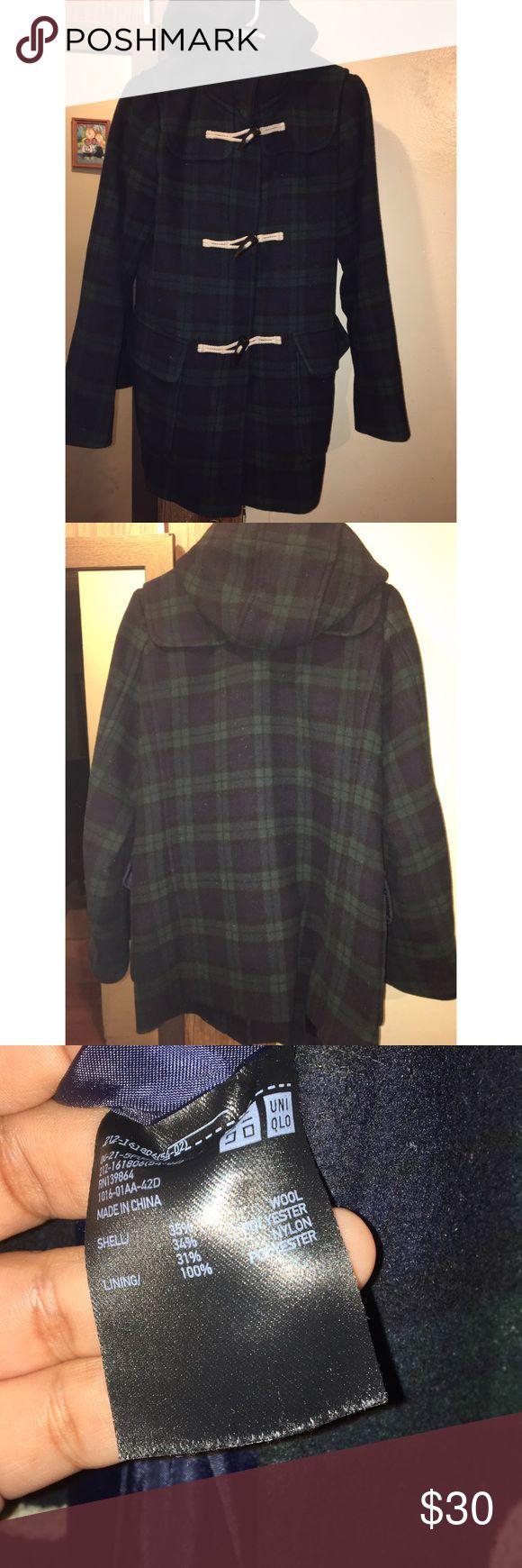 Uniqlo wool blend coat Very warm & Stylish lightly used coat. Very elegant Uniqlo Jackets & Coats