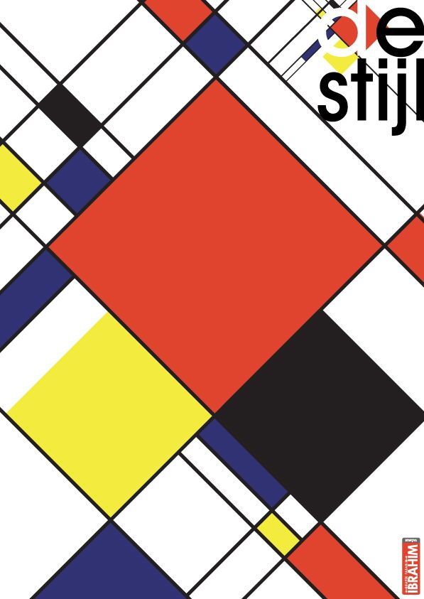 El De Stijl fue un movimiento artístico fundado en Leiden, Holanda, en 1917.