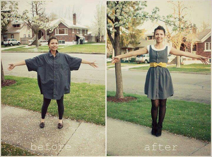 Diy dress. How cool? There's no link... must Google later.