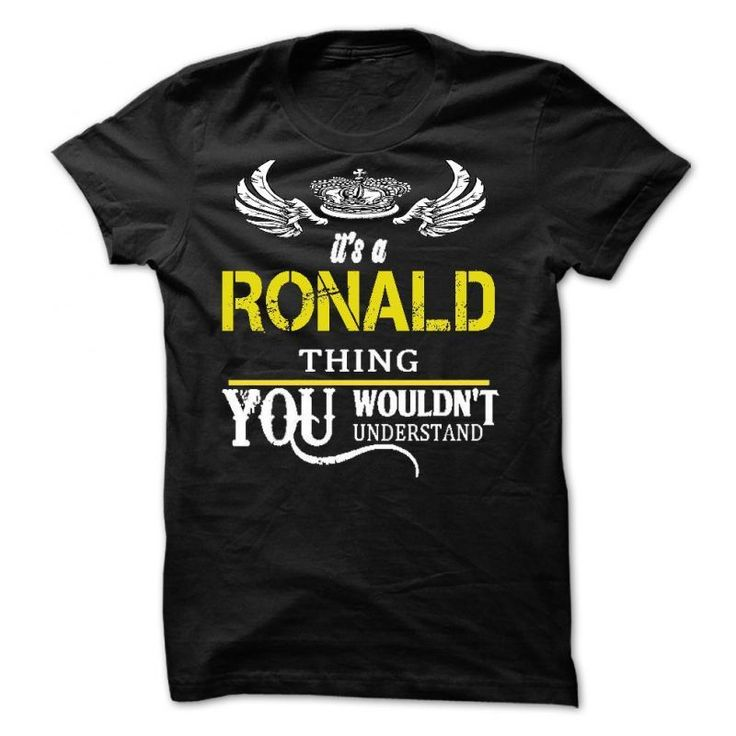 Its A Ronald Thing Ron Swanson T Shirt Thechive #ron #swanson #t #shirt #australia #ron #weasley #t #shirt #redbubble #ronald #jenkees #t #shirt #ronald #reagan #t #shirt #urban #outfitters