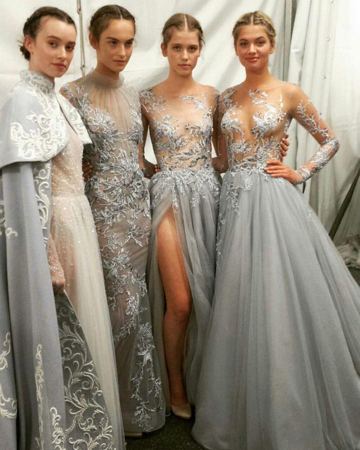 Paolo Sebastian - The Snow Maiden - 2016 A W Couture Collection