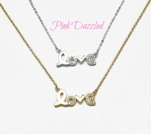 """Available Colors: Gold, White Gold  Material: Cubic Zirconia, 18kt Gold Plated  Length: Approx. 17"""" plus 2.5"""" extender for Yellow Gold, and 18"""" for White Gold"""