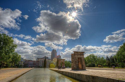Temple of Debod – Templo de Debod. Madrid (Spain), HDR