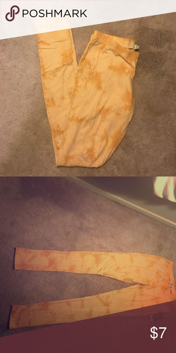 Multi color leggings Great, lightweight leggings. Multi- color leggings. Full length. Sz. M Never been worn. Forever 21 Other