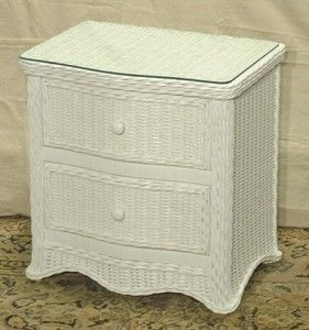 A Wicker Nightstand Has Great Use and Functionality - http://www.wickerliving.com/blog/indoor-wicker-furniture/wicker-nightstand-great-use-functionality/