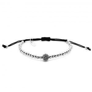 Chevalier Project bracelet White Gold CZ Diamonds bead