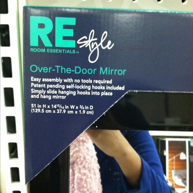 Over The Door Mirror $14.49