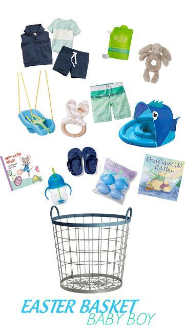 Las 25 mejores ideas sobre baby easter basket en pinterest bringing up brooks easter basket ideas baby boy easter basket babys first easter negle Gallery