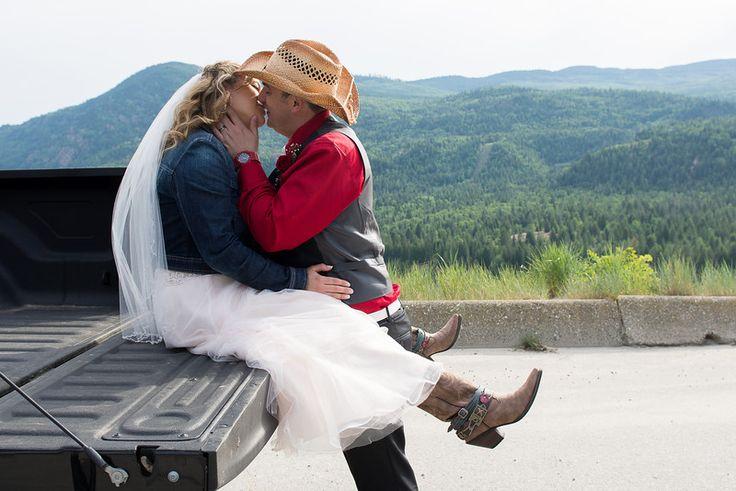 Cowboy wedding boots Melina Black Photography
