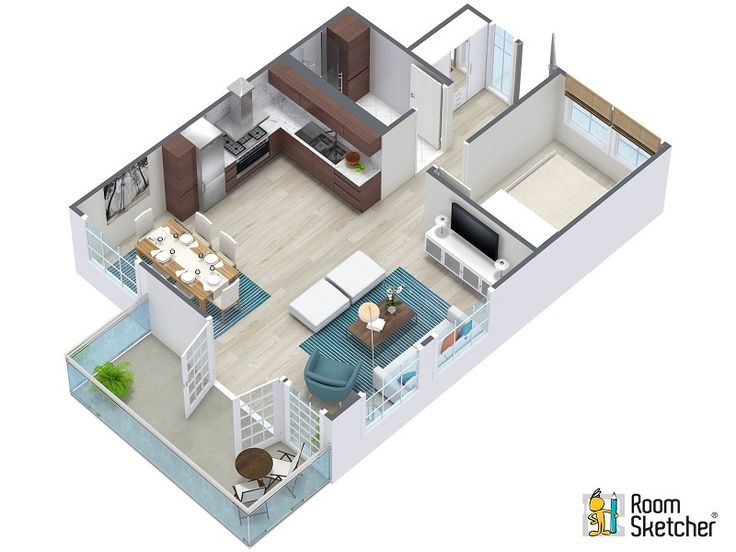 127 best images about home building with roomsketcher on 3d house plan creator