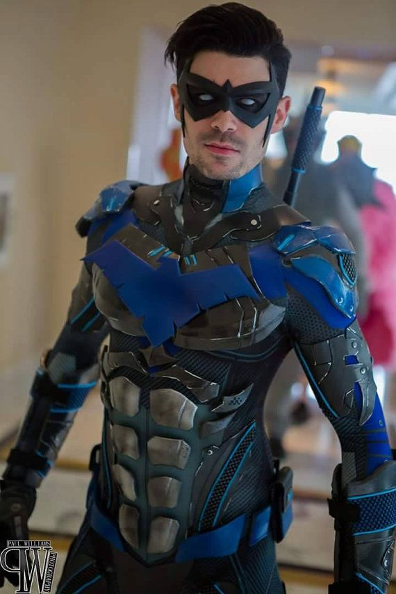 New 52 comic inspired Nightwing mask various by TigerStoneFX