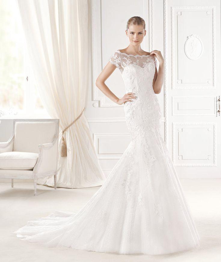 Lovely EMBLA wedding dress from the Fashion La Sposa collection La Sposa