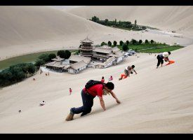 Singing Sand Dunes In China: Destination Of The Day (PHOTOS, POLL)