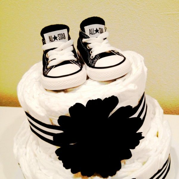How To Make a cute boy themed diaper cake