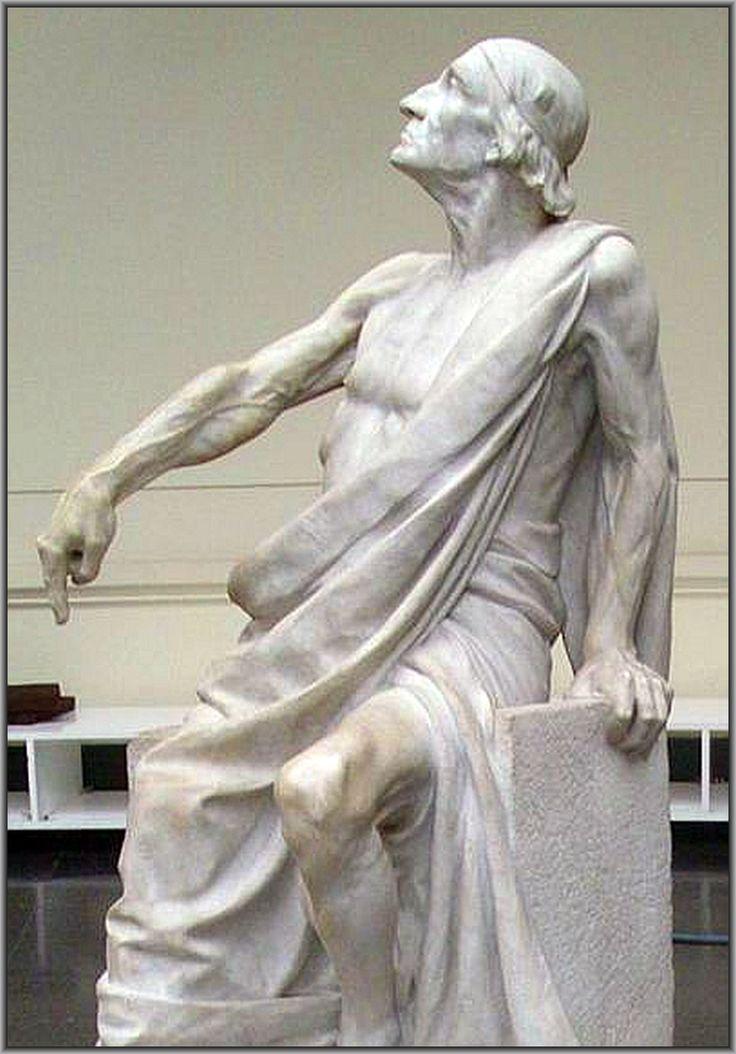 Statue at Museo de Belles Artes en Santiago, Chile