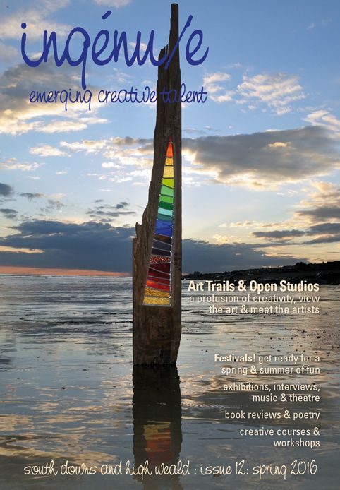 Front cover of ingenue magazine issue 12. Pictured: Shard, by Louise Durham www.louisevdurham.com