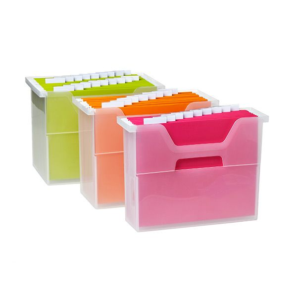 Open-Top File Boxes  sc 1 st  Pinterest & Best 25+ Box file ideas on Pinterest | Plastic file cabinet ... Aboutintivar.Com
