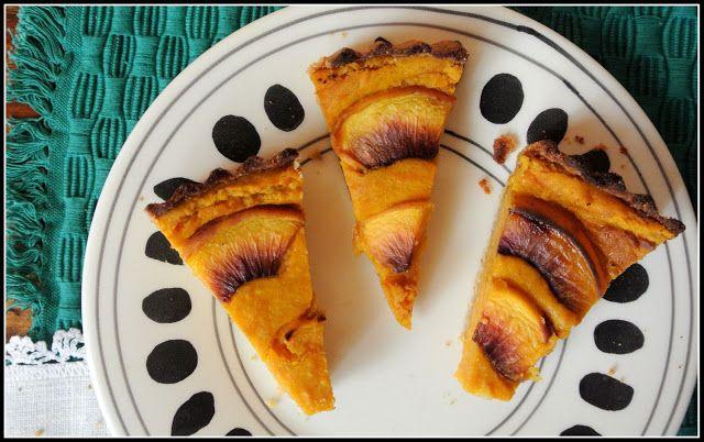 kokosowa tarta dyniowa