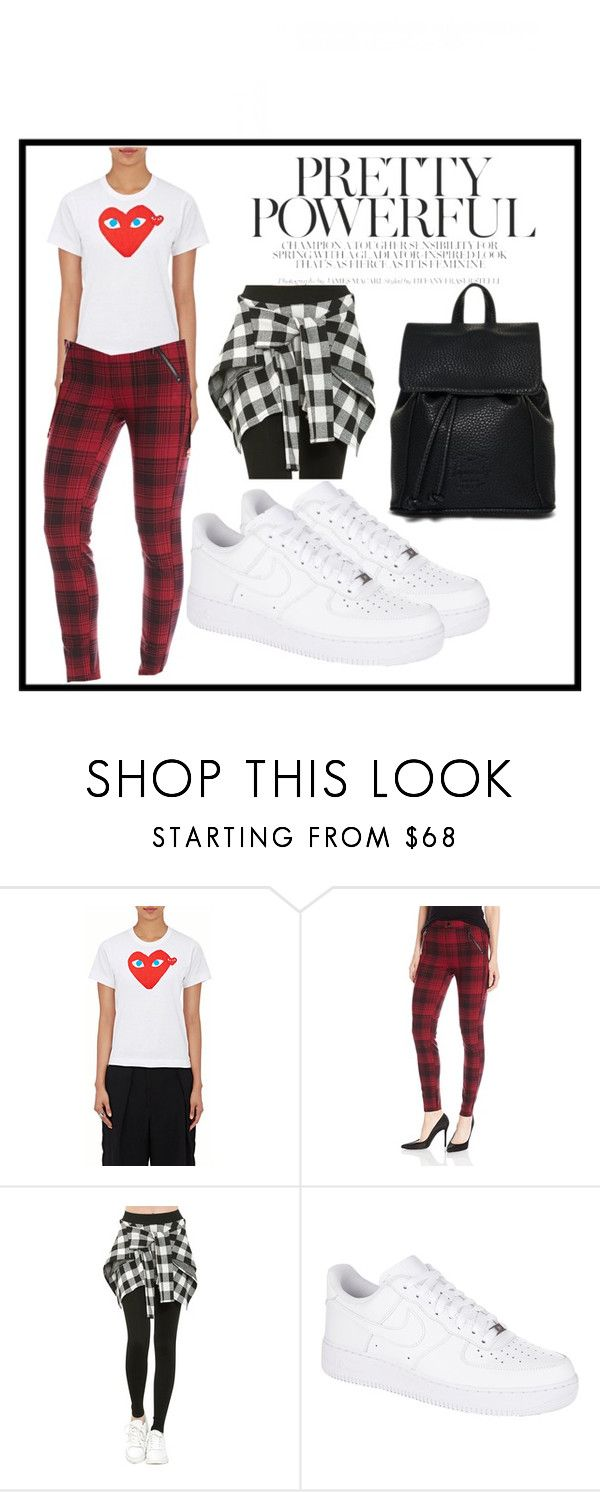 """""""Insprired by Rachel Green from F.R.I.E.N.D.S."""" by sinihanna on Polyvore featuring Play Comme des Garçons, Kensie, NIKE and Superdry"""
