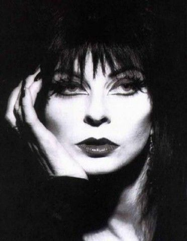 """Elvira.... I remember being asked who I wanted to be when I grew up & saying """"Elvira?!"""""""