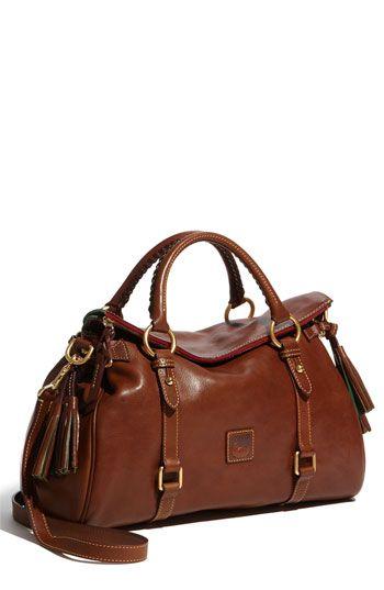Dooney & Bourke 'Florentine' Vachetta Leather Satchel, buy at dooney and bourke .com on sale light brown