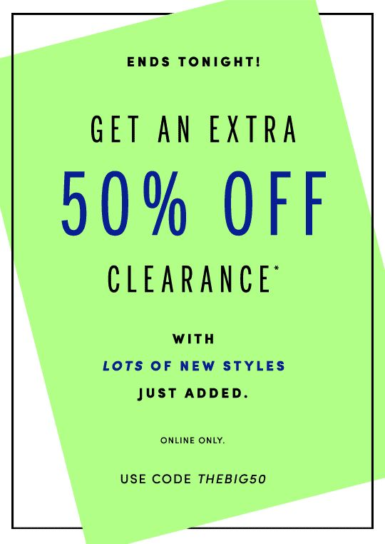 J.Crew Factory: Whoa… Our clearance sale just got bigger. | Milled