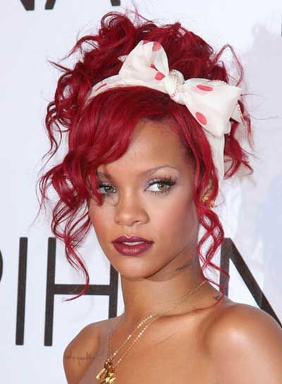 Outstanding 1000 Ideas About Rihanna Curly Hair On Pinterest Curly Hair Hairstyles For Men Maxibearus