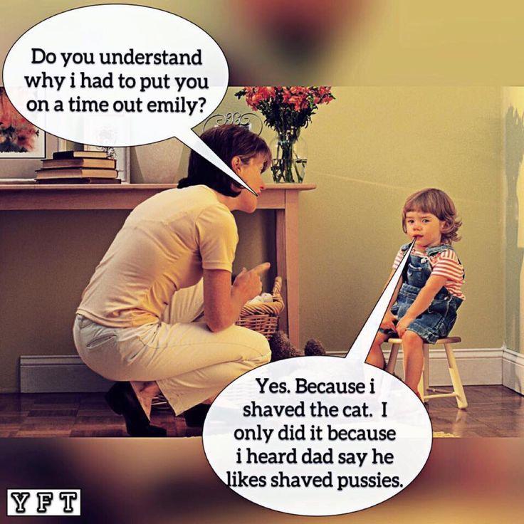Haha!! Shaved pussy e061016