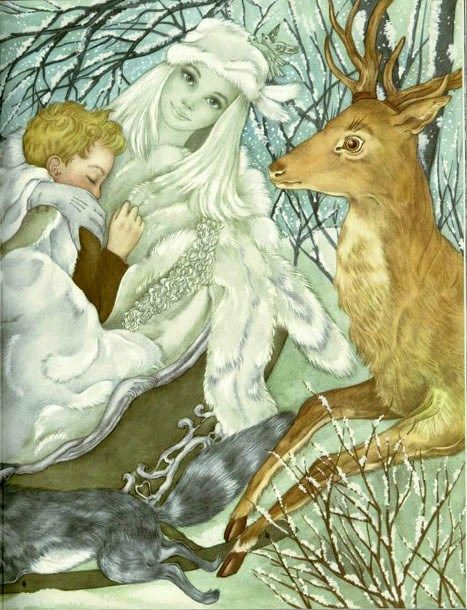 The Snow Queen . Hans Christian Andersen . The book from which Disney's film Frozen is adapted .