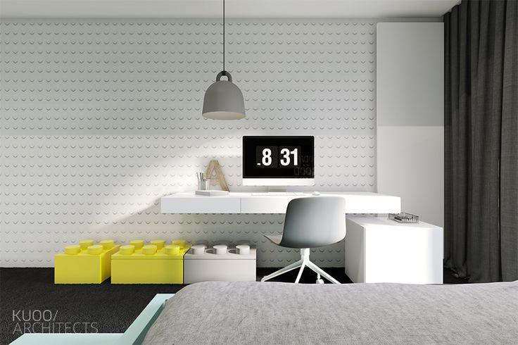 Francja // Tuluza // Dom Jednorodzinny // 330 M2 | Kuoo Architects - Warszawa…