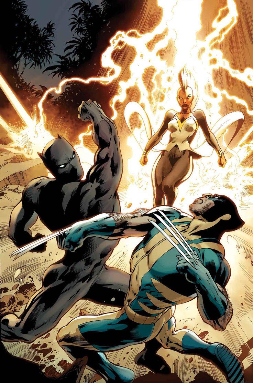 Black Panther, Storm & Wolverine - Alan Davis
