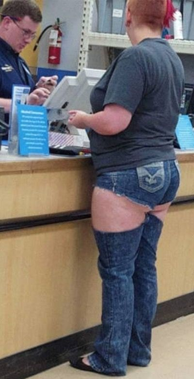 Jean Leg Warmers at Walmart - Funny Pictures at Walmart